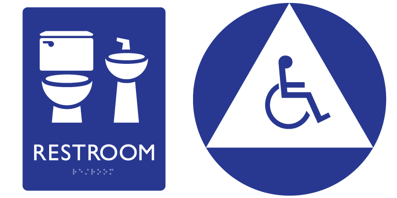 Gender Neutral Restroom Signage